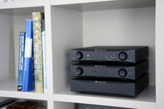 NuPrime DAC-9, HPA-9 & STA-9 stack in a customers home office.