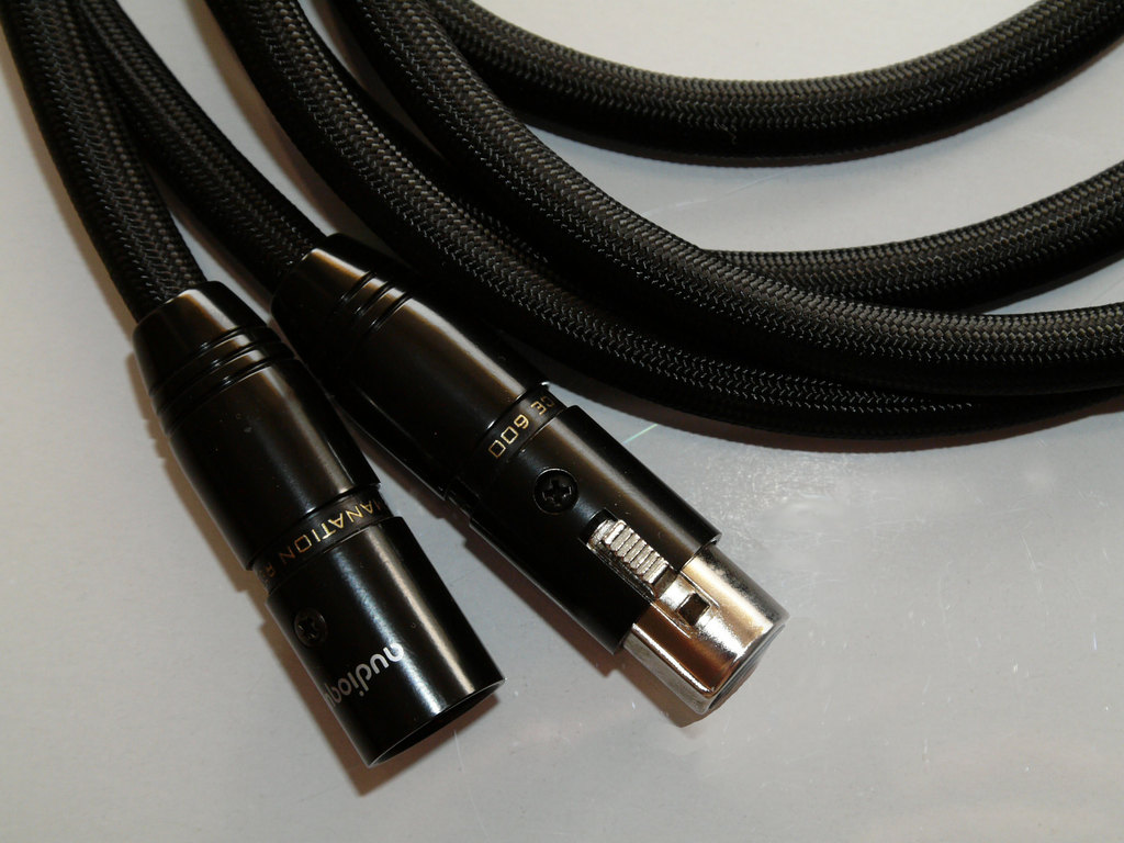 Emanation Audio Pro 600 XLR cables