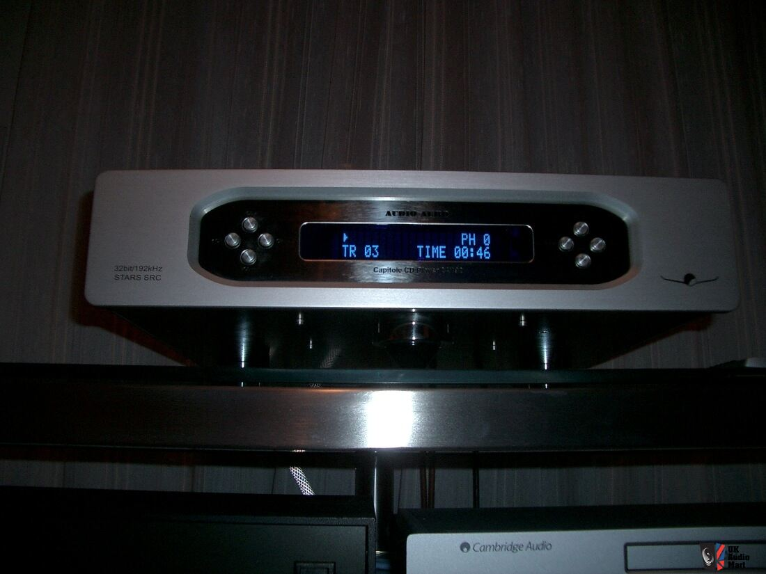 Audio Aero Capitole Cd Player 24 192 Mk Ii Signature