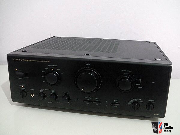 Amplifier Onkyo Integra A-8850 black
