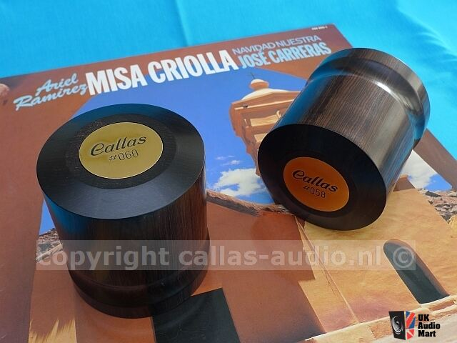 Callas-Audio African Ebony Recordclamp