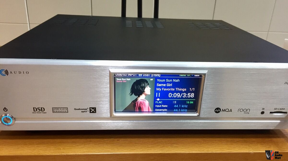 Cary Audio DMS-500 Digital Music Streamer/DAC Photo #2006903 - UK
