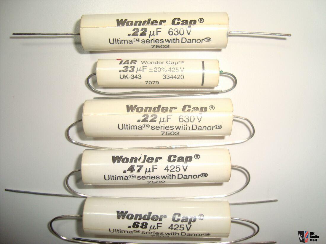 WONDER CAP various series DANOR capacitors Photo #2330544