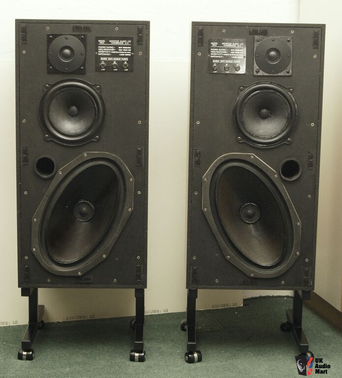 Pair Of Monitor Audio Ma3 Photo 799182 Uk Audio Mart