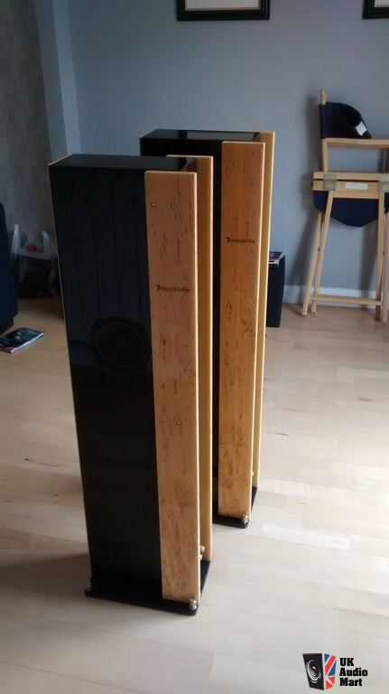 Bosendorfer Brodmann Vc2 Speakers In Fantastic Burl Birch
