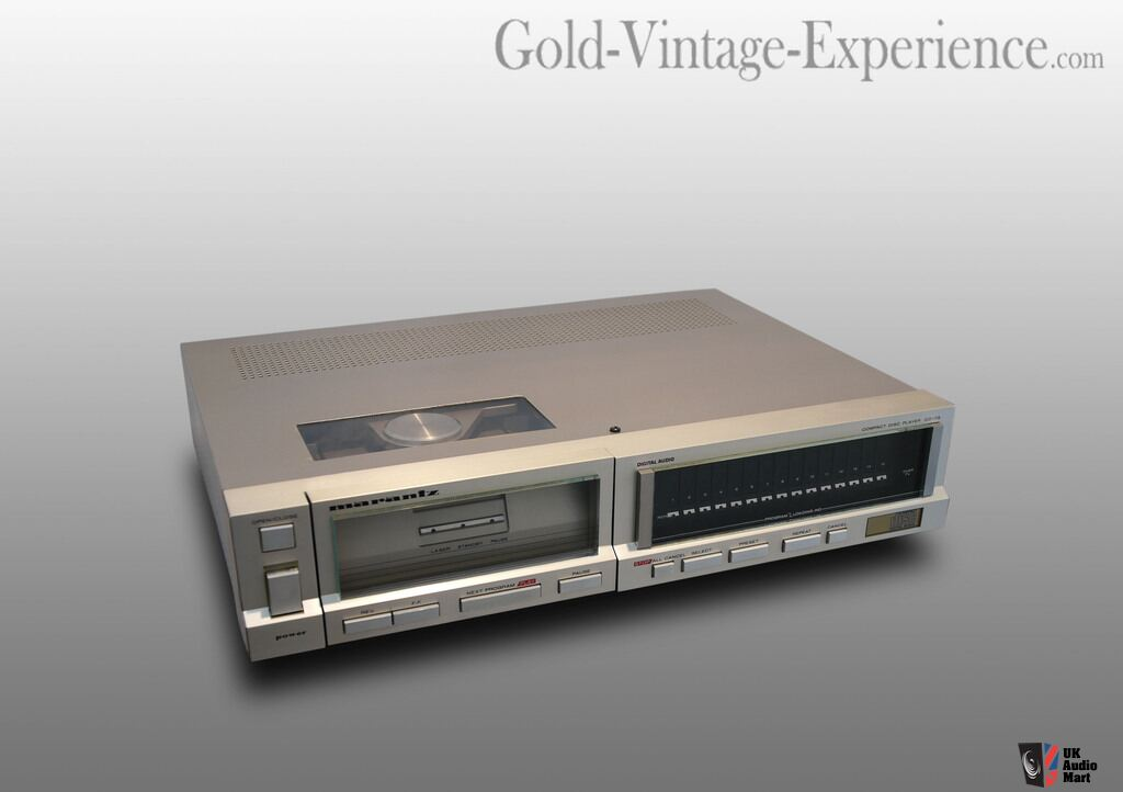 Marantz Cd 73 Vintage Cd Player Photo 966732 Uk Audio Mart